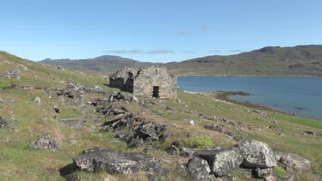 Greenland-Hvalsey-Norse-church-ruin-distant