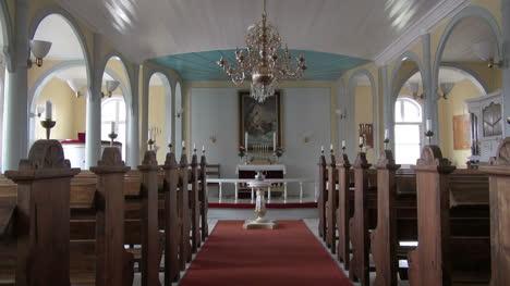 Greenland-Qaqortoq-inside-church-altar