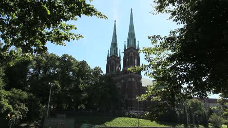 Helsinki-Finland-church-towers