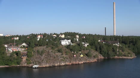Sweden-Stockholm-approach-smokestack-s-Subclip-2