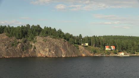 Suecia-Archipiélago-De-Estocolmo-Rocas