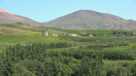 Iceland-view-with-church