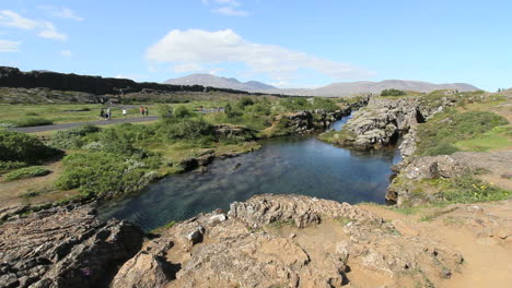 Iceland-Pingvellir-rift-with-water-3