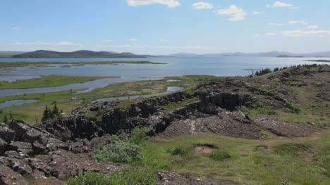 Iceland-Pingvellir-rift-and-lake