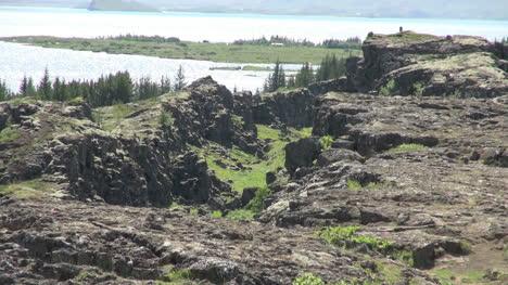 Iceland-Pingvellir-lake-from-the-lava-ridge