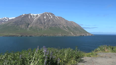 iceland-Olafsfjordur-and-a-mountain