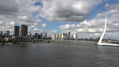 Netherlands-Rotterdam-Erasmus-Bridge-cables-in-front-of-skyline