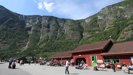 Norway-Flam-railroad-station-c