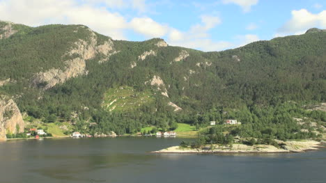 Norway-a-timelapse-view-of-hills-above-Lysefjord