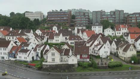 Norway-Stavanger-old-town-s