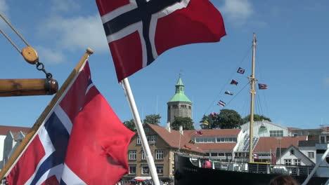 Banderas-Noruega-Stavanger-S