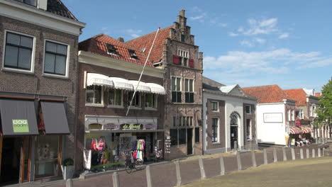 Netherlands-Edam-white-awnings-over-storefront