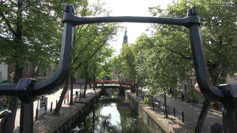 Netherlands-Edam-stout-rail-on-canal