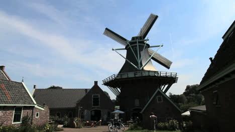 Molino-De-Viento-De-Los-Países-Bajos-Alkmaar-C