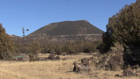 New-Mexico-Capulin-volcano-and-windmill-6