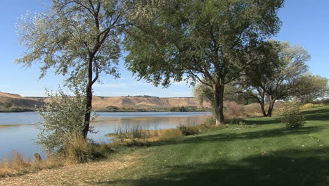 Idaho-Snake-River-park-with-trees
