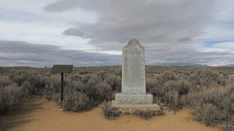Monumentos-Del-área-Del-Paso-Sur-De-Wyoming