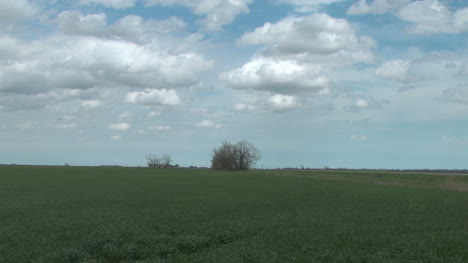 Time-lapse-clouds-scurry-above-a-wheat-field-on-the-Great-Plains