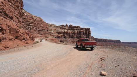 Utah-Road-up-Cedar-Mesa-with-car-c