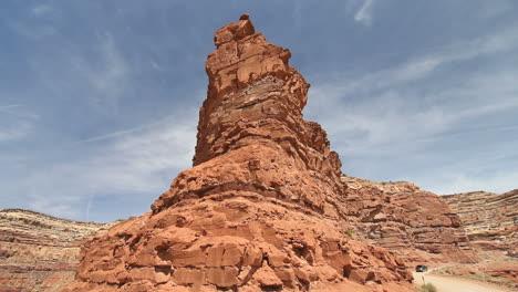 Utah-rock-spur-on-Cedar-Mesa