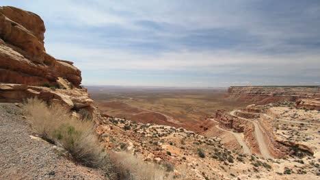 Utah-view-from-the-road-up-Cedar-Mesa