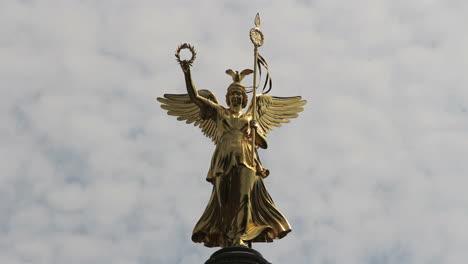 Berlin-Statue-of-Victoria-on-Siegessaule-(Victory-Column)