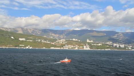 Ukraine-Crimean-coast-near-Yalta-with-tug-time-lapse-c