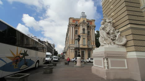 Ukraine-17-Odessa-Opera-house-with-bus-c
