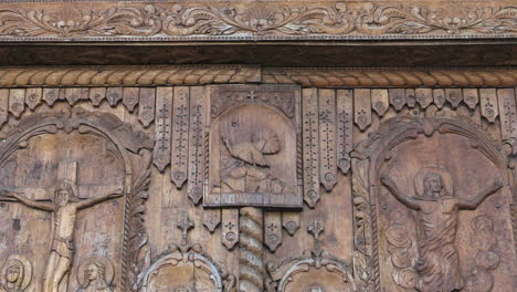 Romania-monestery-doors-zooms-on-carved-turkey-cx