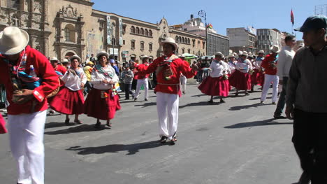 La-Paz-Fiesta-Dancers-By-Church