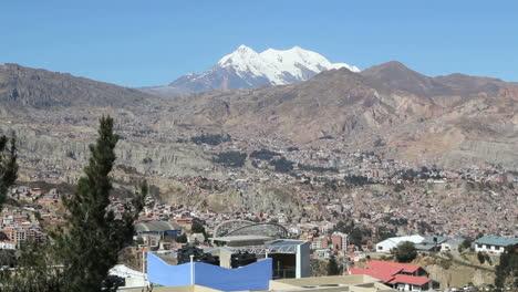 La-Paz-city-view-with-snow-on-peak-c