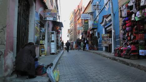 La-Paz-narrow-street-man-walking-c