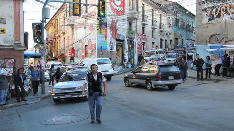 La-Paz-street-with-cars-near-witches-market-c