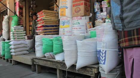 La-Paz-market-flour-bags