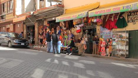 Bolivia-La-Paz-shop-with-colorful-goods