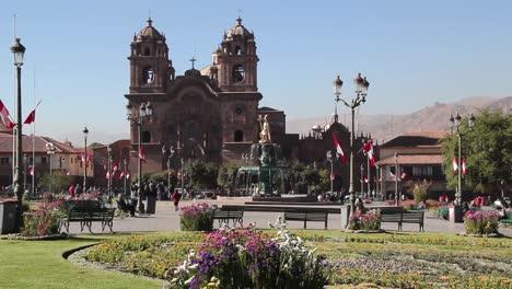 Peru-Church-of-la-Compa-a-de-Jesus-in-Cusco