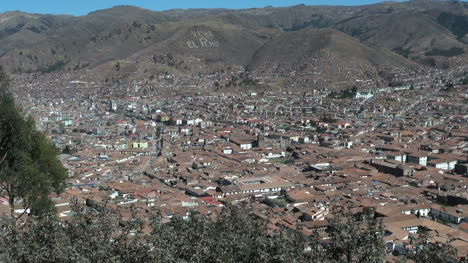 Peru-view-of-Cusco-from-above-s