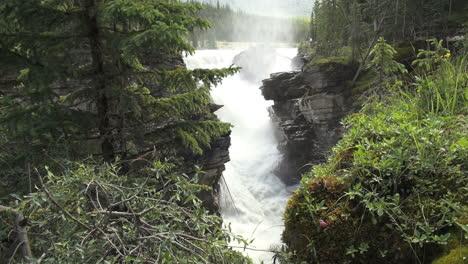 Canada-Alberta-Athabasca-Falls-at-gorge-s