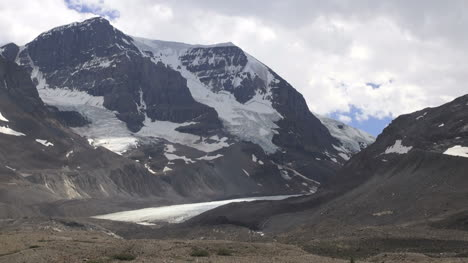 Canada-Icefields-Parkway-Athabasca-Glacier-moving-clouds-s