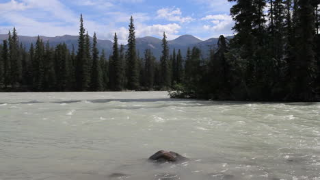 Canadian-Rockies-Athabasca-River-current