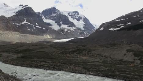 Canadá-Icefields-Parkway-Glaciar-Athabasca