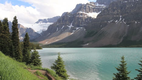 Canadian-Rockies-glacial-lake