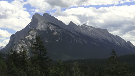 Canada-Alberta-Bow-River-Parkway-slanted-mountain