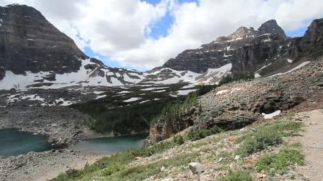 Canadian-Rockies-Banff-Eiffel-Lake-beyond-cliff-c