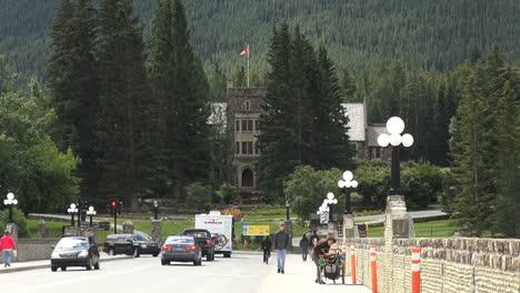 Kanada-Alberta-Banff-Park-Hauptsitz