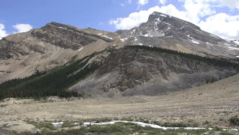 Canada-Icefields-Parkway-stream-and-peaks-