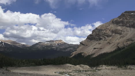 Canada-Icefields-view-from-Bow-Falls-pans-left-s