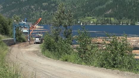 British-Columbia-Adams-Lake-log-truck