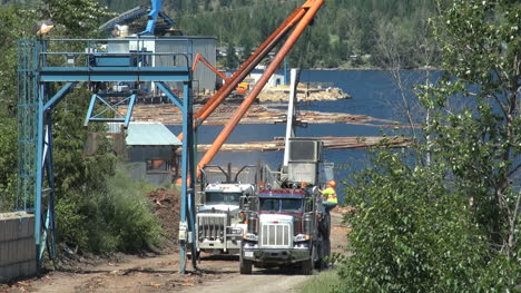 British-Columbia-Adams-Lake-two-lot-trucks