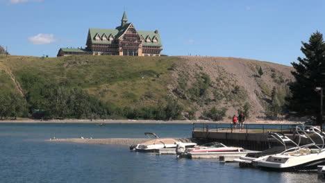 Kanada-Alberta-Prince-Of-Wales-Hotelwal